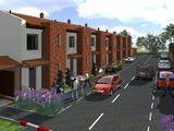 Saját kertkapcsolatos sorházi lakások Győr-Szabadhegyen épülő lakóparkban eladók, Győrszabadhegy